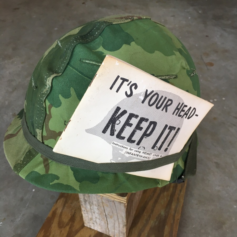 The Classic M-1 Vietnam War Helmet '64-'65 Dated New Old Stock