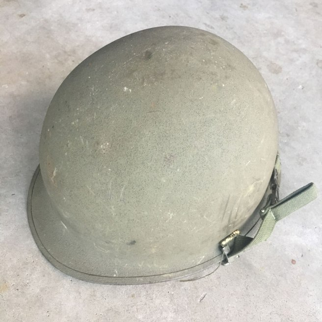 M-1-Helmet-Korean-War-Steel-Pot-OD-Hardware-2