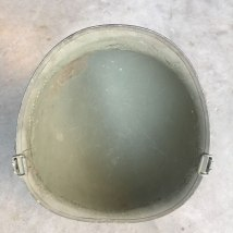 M-1-Helmet-Korean-War-Steel-Pot-OD-Hardware-Inside-Rim