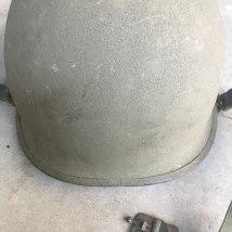 M-1-Helmet-Korean-War-Steel-Pot-OD-Rear-Seam