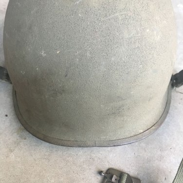 M-1-Helmet-Korean-War-Steel-Pot-OD-Rear-Seam