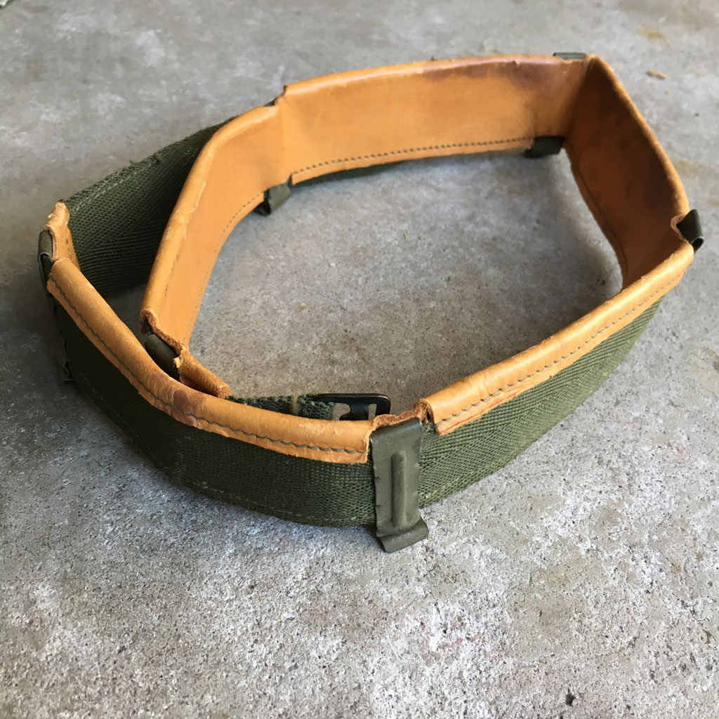 M-1-Korean-War-Helmet-Liner-Sweatband-1953-HBT-OD