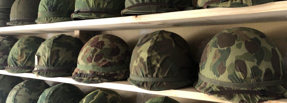 Vietnam War Helmets – Collecting & Building M-1 Helmets One Pot At A